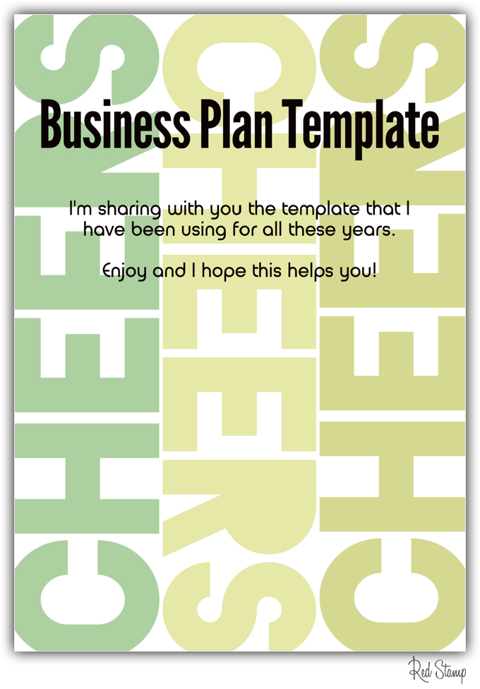 ... business you need a business plan your plan will provide the road map