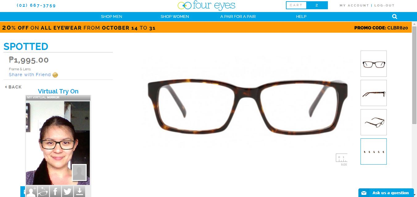 Four Eyes: Online Eyeglasses Shop - Mommy Ginger